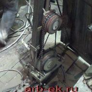алмазная резка бетона канатной установкой