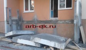 демонтаж бетонных плит лоджий