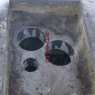 Сверление отверстий в бетонной стене