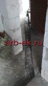 Алмазная резка бетонного пола